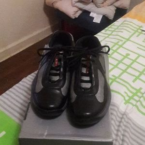 Authentic Prada men lace-ups